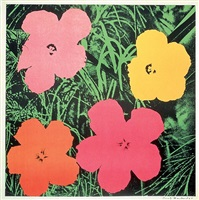 flowers [ii.6] by andy warhol